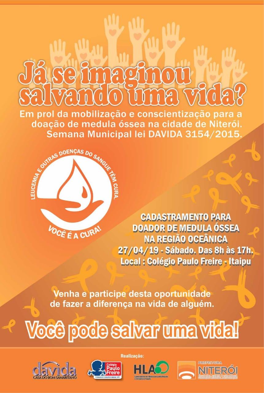 Campanha Doação Medula Niteroi
